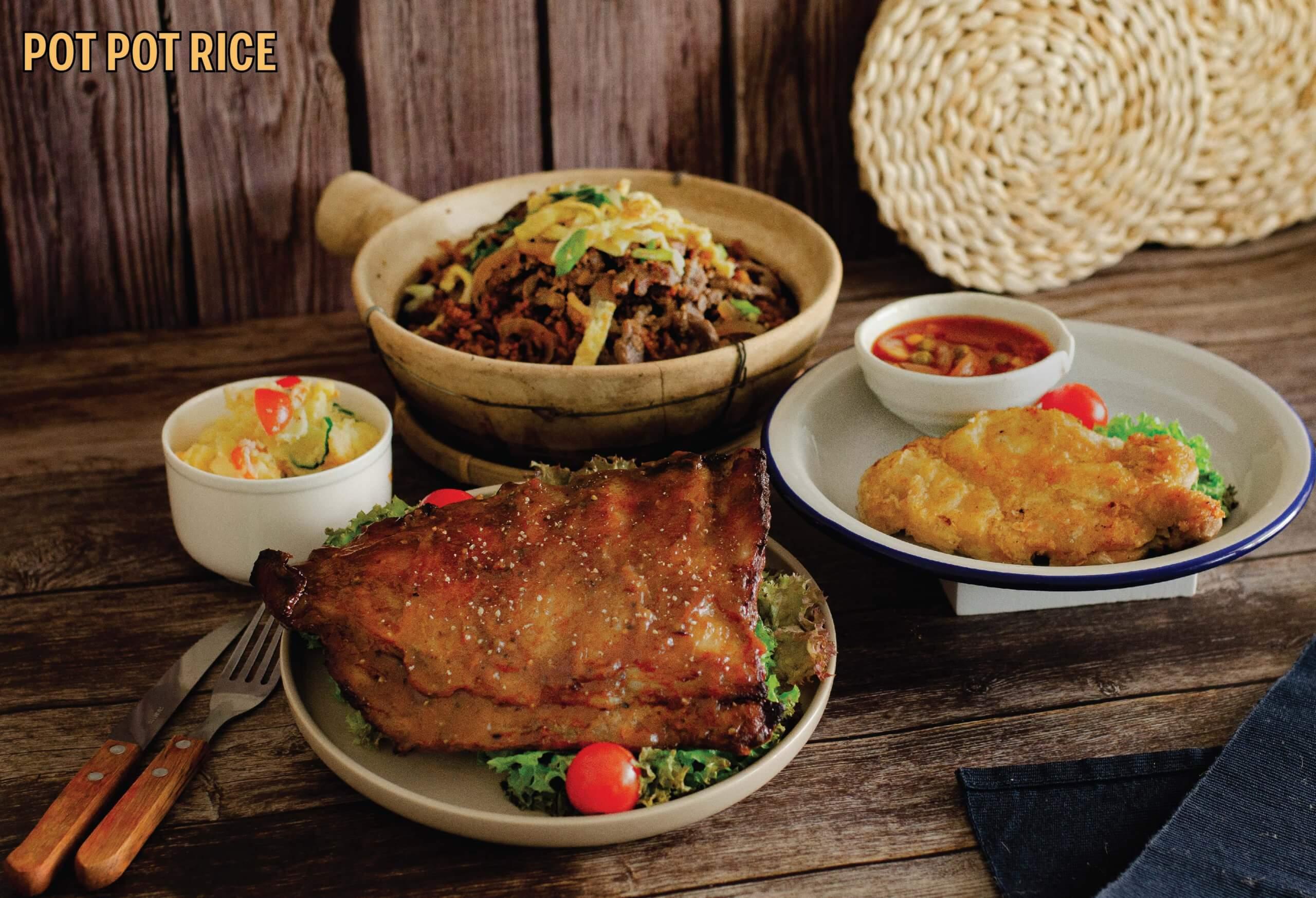 Pot Pot Rice